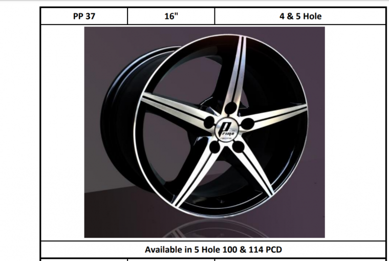 Alloy Rims 17 ""